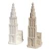 Beeld Martinitoren betonlook en wit