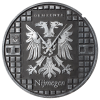 Nijmegen Putdekselklok – zwart zilver