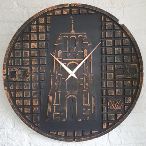 Putdekselklok Leeuwarden roestkleur 700×700