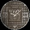 Venlo Putdekselklok – zwart met zilver